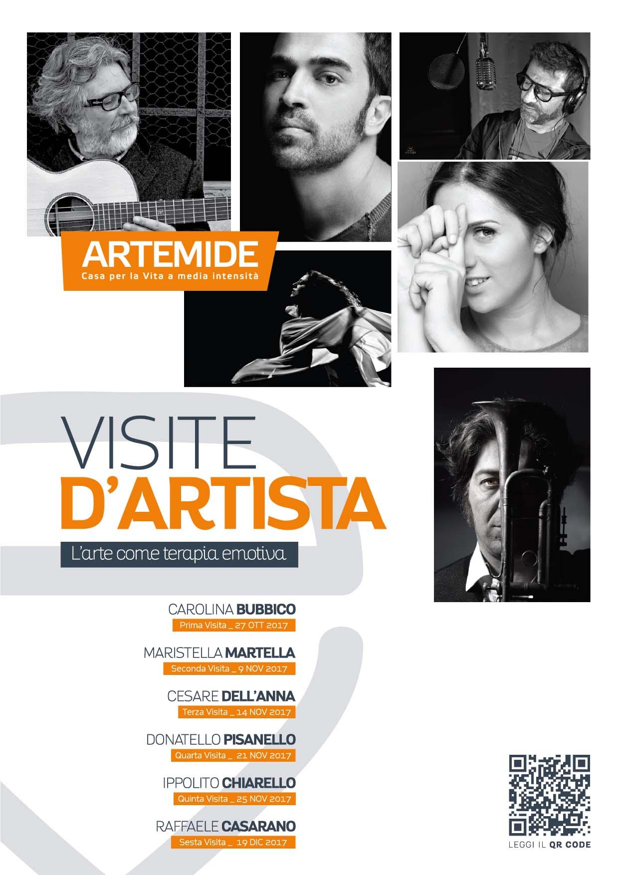 Invito Visite d'Artista